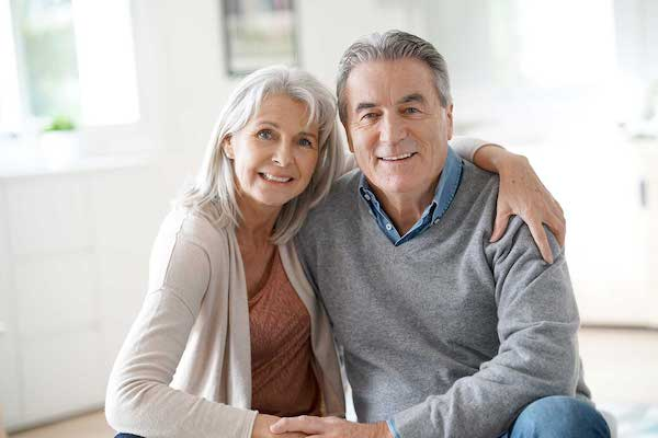 Couple dealing with enlarged prostate gland