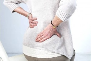 low back pain due to spinal compression fractures